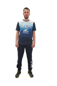 camiseta técnica masculina